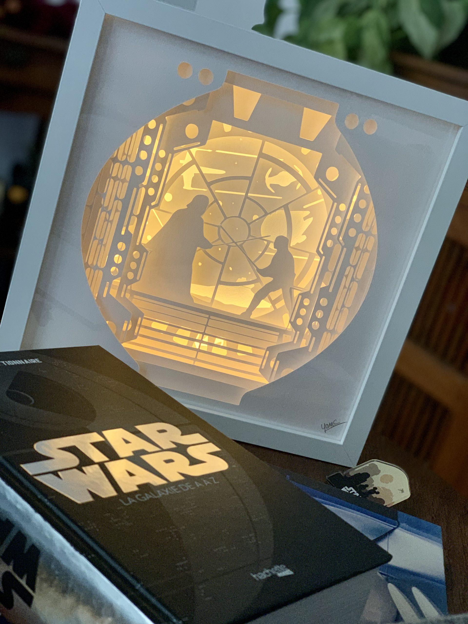 Cadre lumineux Star Wars